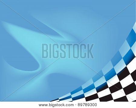 race flag waving background vector illustration background