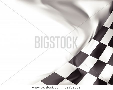 race flag waving background vector illustration background