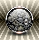 image of machinery  - Background 3d - JPG
