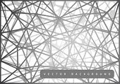 pic of spiderwebs  - Abstract background as spiderweb from triangles - JPG