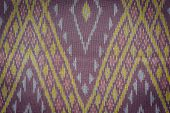 picture of northeast  - Close up Thai style handcrafted textile made by silk from northeast Thailand - JPG