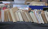 pic of vintage antique book  - antique shop - JPG