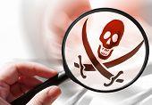 image of illegal  - Internet piracy  - JPG