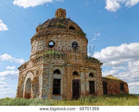 Ruins Of Ancient Abandoned Church