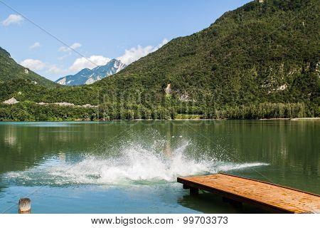 Some Always Cold Slovenia Lake