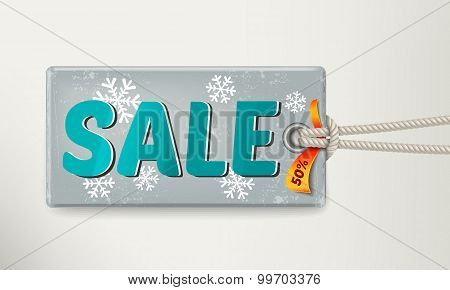 Sale Tag Design. Vector Illustration Eps 10