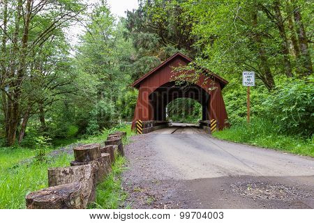 North Fork Yachats Bridge