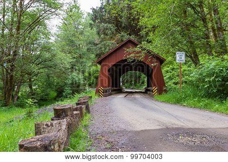 North Fork Yachats Bridge
