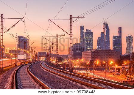 New Railway Line.