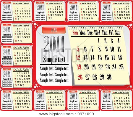12 Pages 2011  Us Calendar.eps