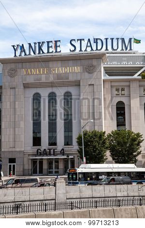 NEW YORK CITY, USA - SEPTEMBER, 2014: Yankee Stadium in New York City