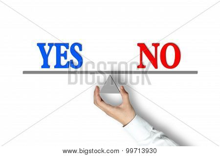 Yes No Balance