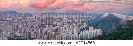 Landscape For Hong Kong City