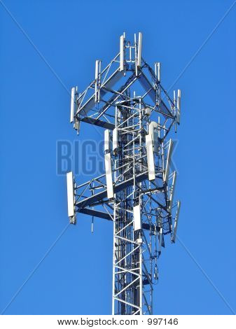 Antenna In Blue Sky 3