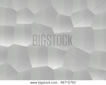 Gray Abstract Hexagons
