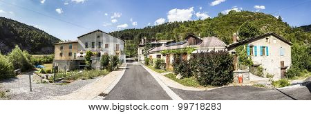 Small Village Of Beaujeu In The Provence Alpes Code D Azur