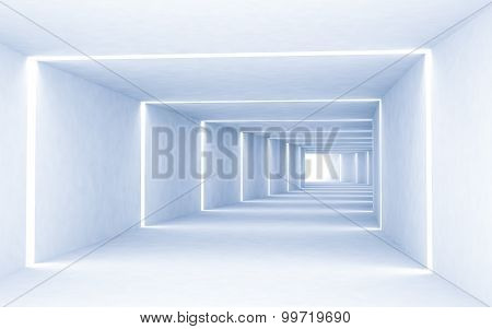 Abstract Light And Space Room Background