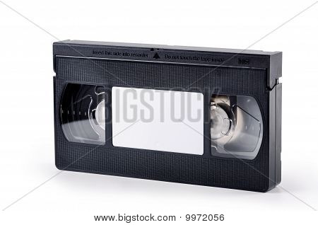 Videotape On A White Background
