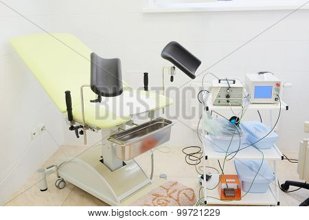 The image of gynecological chair