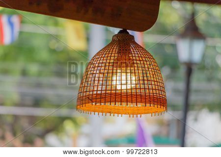 D.i.y To Vintage Ceiling Light From Thailand
