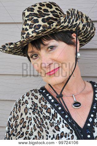 Western cowgirl.