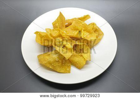 Deep fried wonton, Deep fried dumpling