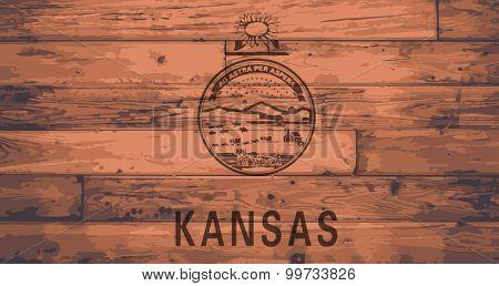 Kansas Flag Brand
