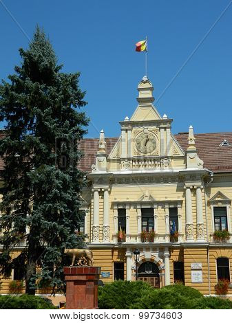 New Town Hall In Brasov, Romania.