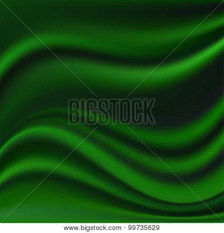 Abstract Vector Texture, Green Silk