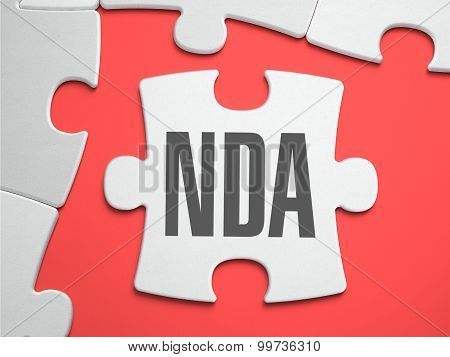 NDA - Puzzle on the Place of Missing Pieces.