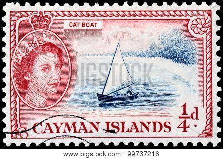 Catboat Stamp