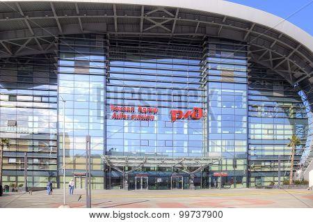Sochi. Adler. Railway Station