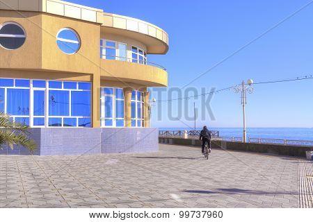 Adler. Embankment