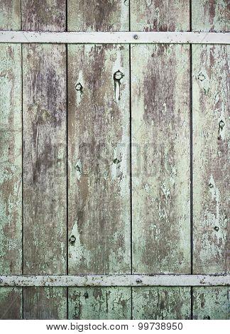 Old wood background door