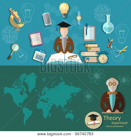 Science And Education Professor Lecture Research Students Education College University Laboratory