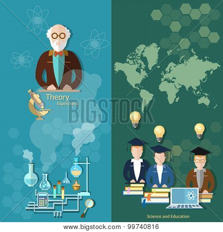 Science And Education Professor Teachers International Students School Board University Study World