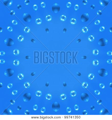 Abstract Air Bubbles Pattern