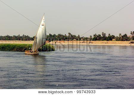 Nile Boat Shore