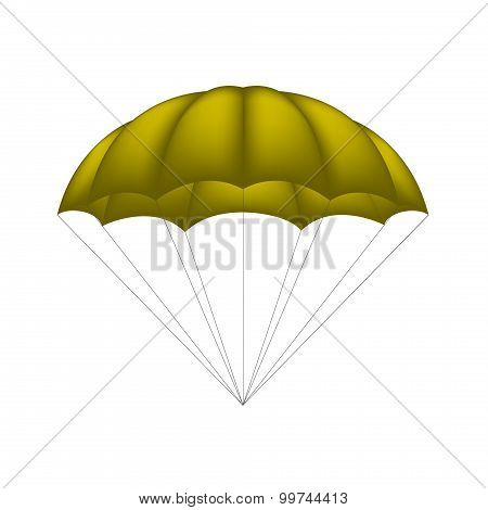 Parachute in brown design