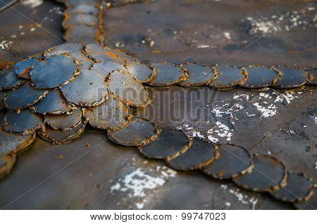Background Image Of Rusty Iron