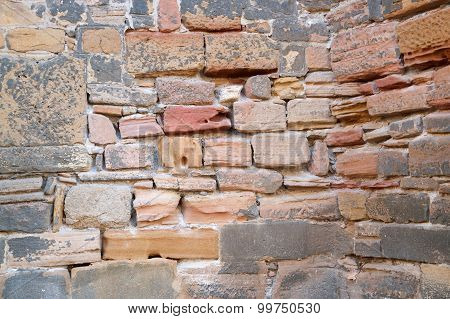 Historic Stone Wall Detail