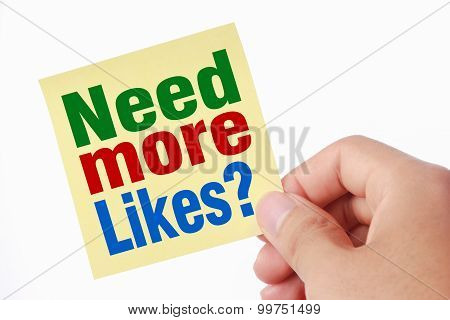 Need More Likes