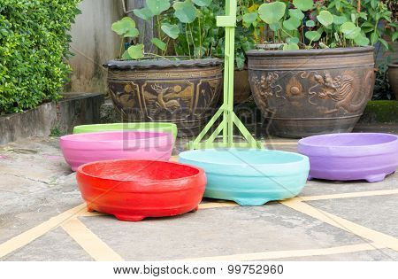 The Colorful  Jardiniere For Flower