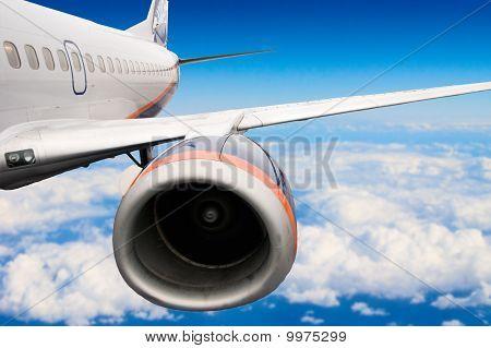 Close-up do avião