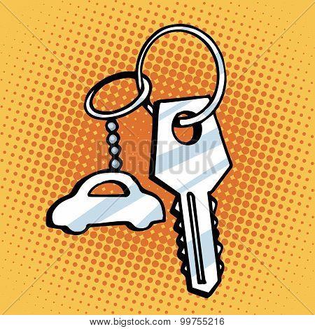 Keychain car keys