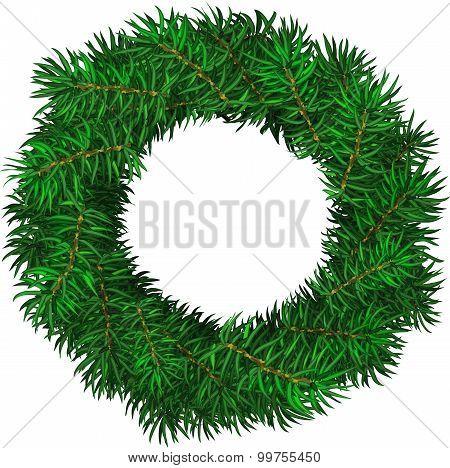 Evergreen Holiday Wreath