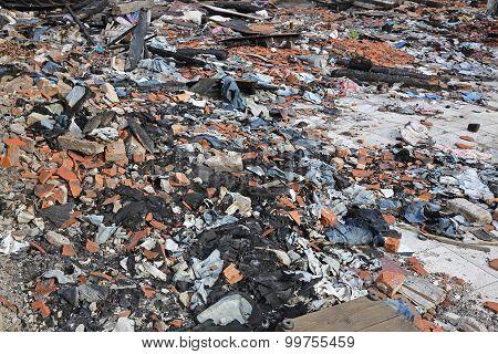 Garment Factory Debris