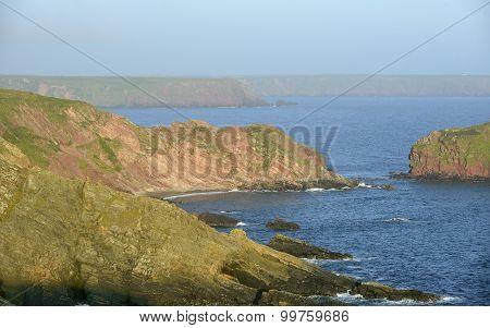 Albion Sands & Gateholm Island