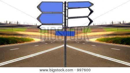 Indicator On Road