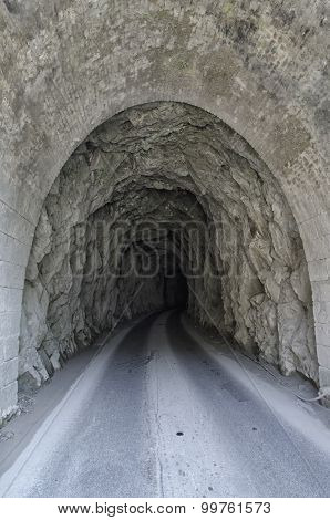 Tunnel Used By The Quarrymen Of Marble